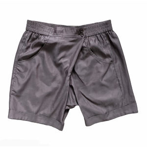 Vince Wrap Waist Shorts Brown Small